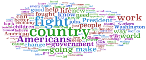 John McCain Word Cloud