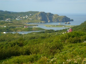 Salmon Cove, Newfoundland - close to the home of many early North American Bouzanes